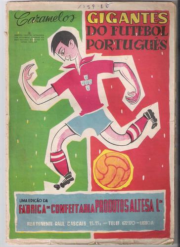 álbum de figurinha digitalizado gigantes do futebol