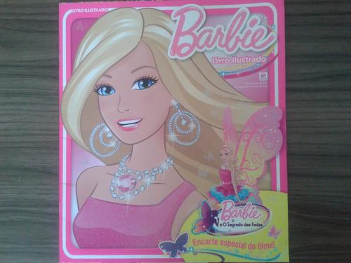 album de figurinhas barbie o segredo das fadas - vazio