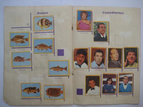 álbum de figurinhas coleção da juventude déc. 60