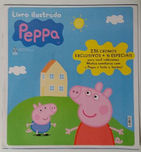álbum de figurinhas da peppa pig - completo