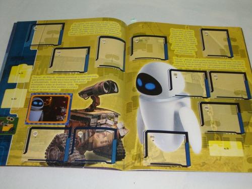álbum de figurinhas disney . pixar   wall. e 2008  vazio
