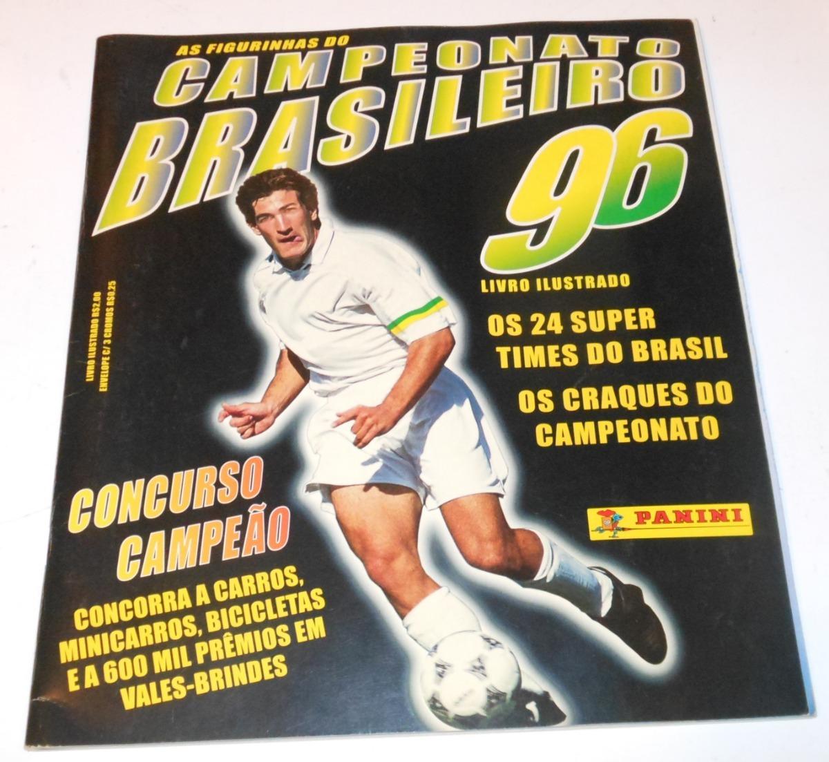 6d5a7bccd6c77 album de figurinhas do campeonato brasileiro de 1996. Carregando zoom.