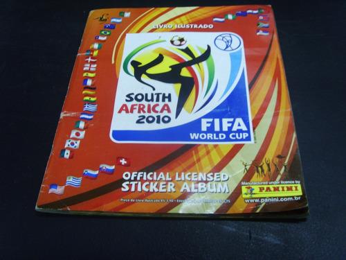 álbum de figurinhas - fifa world cup south africa 2010
