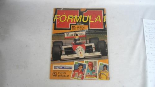 album de figurinhas fórmula 1