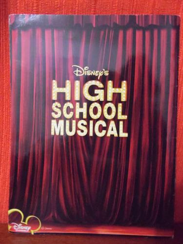 album de figurinhas - high school musical  - incompleto