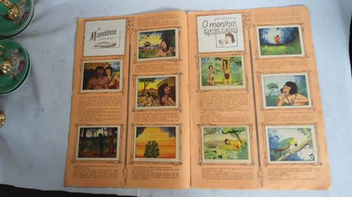 album de figurinhas  lendas indigenas