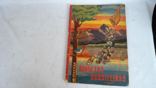 album de figurinhas  riquezas do brasil