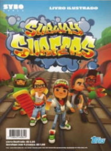 album de figurinhas - subway surfers