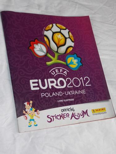 álbum de figurinhas  uefa euro 2012 poland ukraine vazio