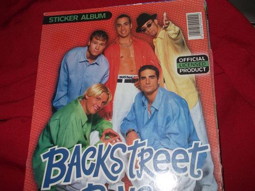 album de figuritas backstreet boys forever-incompleto