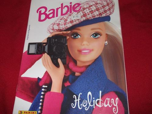 album de figuritas barbie-holiday-vacio