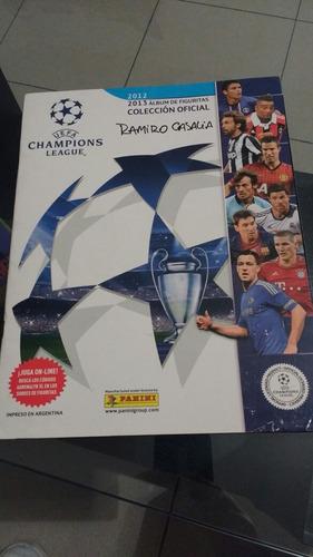 album de figuritas champions league 2012 2013 incompleto