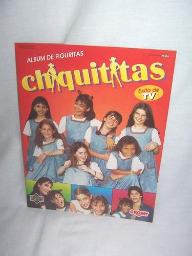 album de figuritas chiquititas cromy  completo - impecable !