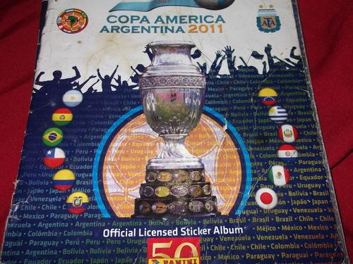 album de figuritas copa america argentina 2011-incompleto
