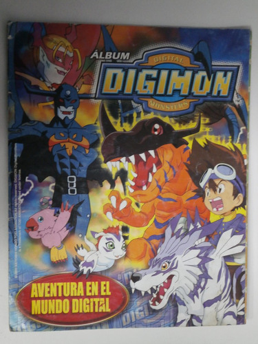 álbum de figuritas digimon (incompleto)