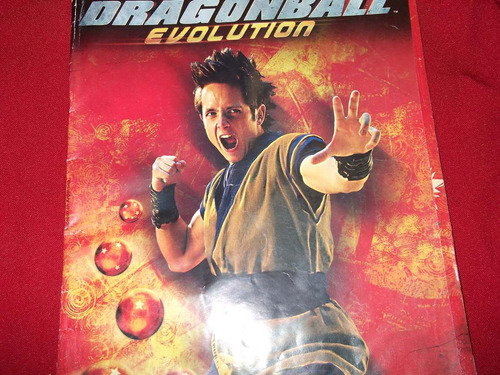 album de figuritas dragonball-evolution-vacio