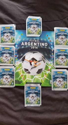album de figuritas futbol argentino 2016 de panini