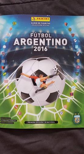 album de figuritas futbol argentino 2016/17 de panini