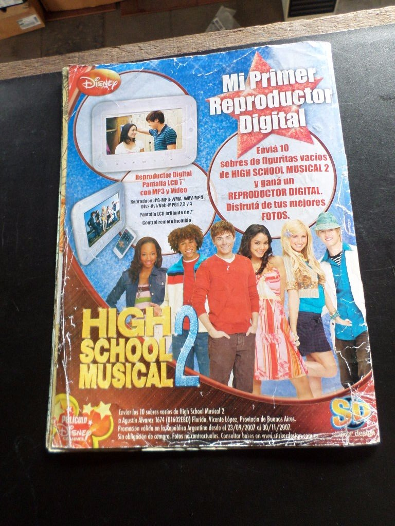 095d429977 Album De Figuritas High School Musical 2 - $ 40,00