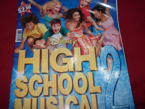 album de figuritas high school musical 2-completo