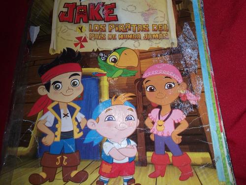 album de figuritas jake y los piratas del pais de ninca jama