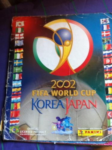 album de figuritas korea japon 2002