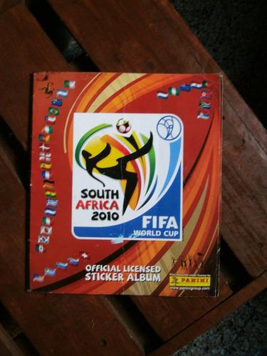 album de figuritas sudáfrica 2010. fifa. futbol, deporte.