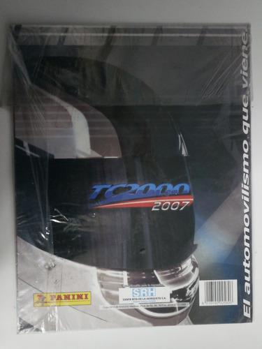 álbum de figuritas tc 2000/07 paladini