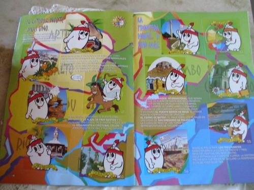 album de figus  el album de el jefe ,lleno, 1999
