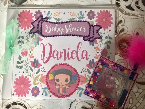 álbum de firmas para baby shower