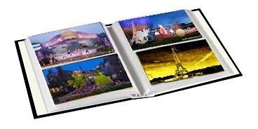 álbum de fotografia minnie capacidade 120 fotos 10x15 cm