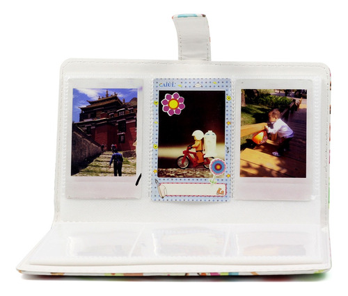 álbum de fotos 96 bolsos para fuji instax mini 8 9 7s 25 70