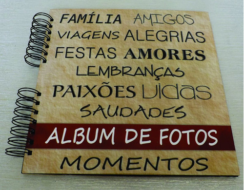album de fotos - scrapbook 25x25cm