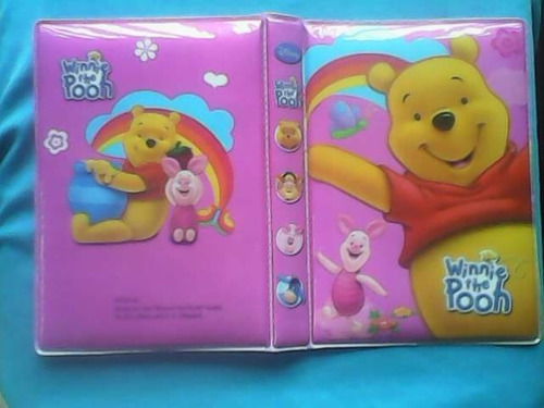 álbum de fotos tamaño postal motivo winnie the pooh