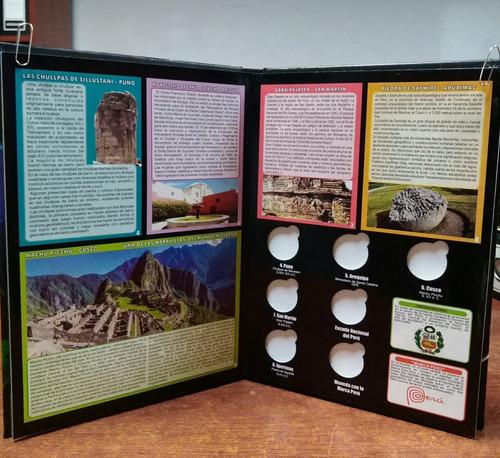 album de monedas coleccion riquezas orgullo ,fauna silvestre