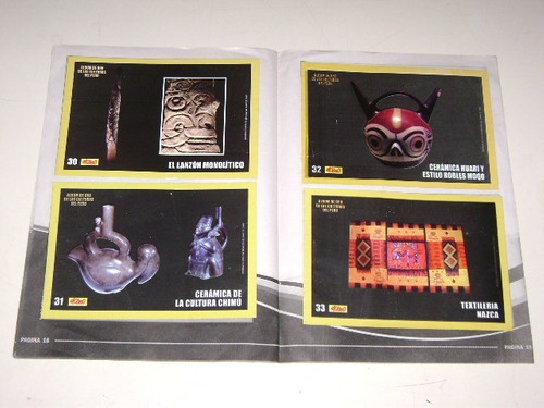 album de oro de las culturas del perú - diario el chino 2007