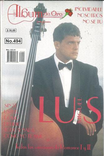 album de oro no.494 luis miguel