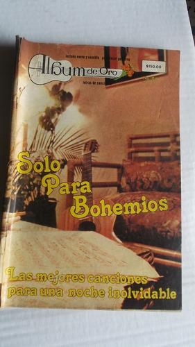 album de oro  solo para bohemios
