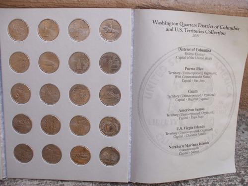 album de quater de dolar de los 50 estados de u.s.a
