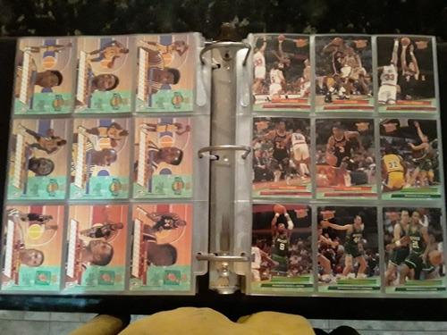 album de tarjetas de la nba 92-93 fleer ultra
