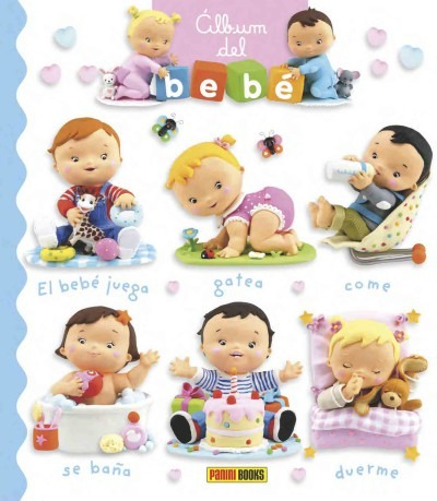 álbum del bebé(libro infantil)
