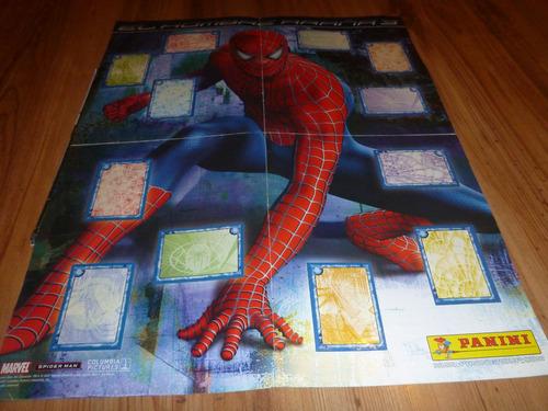 album del hombre araña 3 la pelicula panini 2007 completo