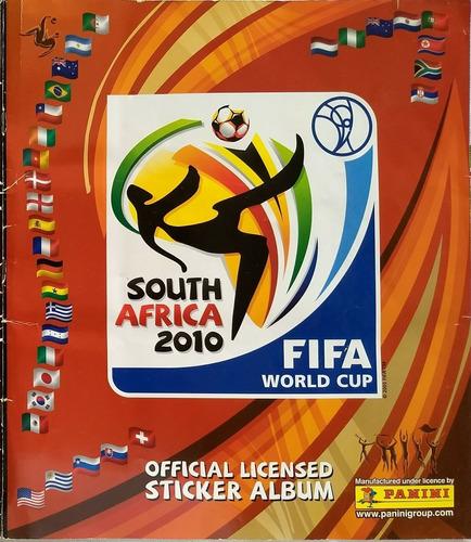 álbum del mundial south africa 2010 totalmente lleno