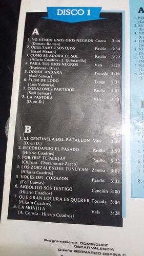 album del recuerdo los cuyitos 48 exitos x 3discos lp vinilo