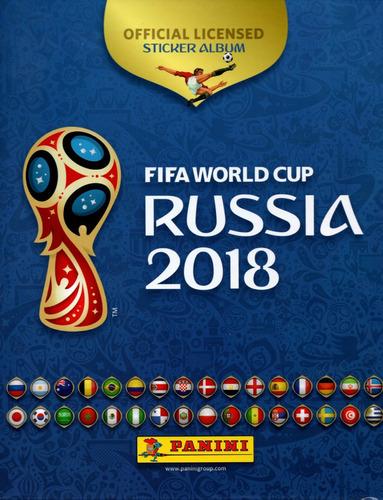 album digital panini lleno del mundial de fútbol rusia 2018