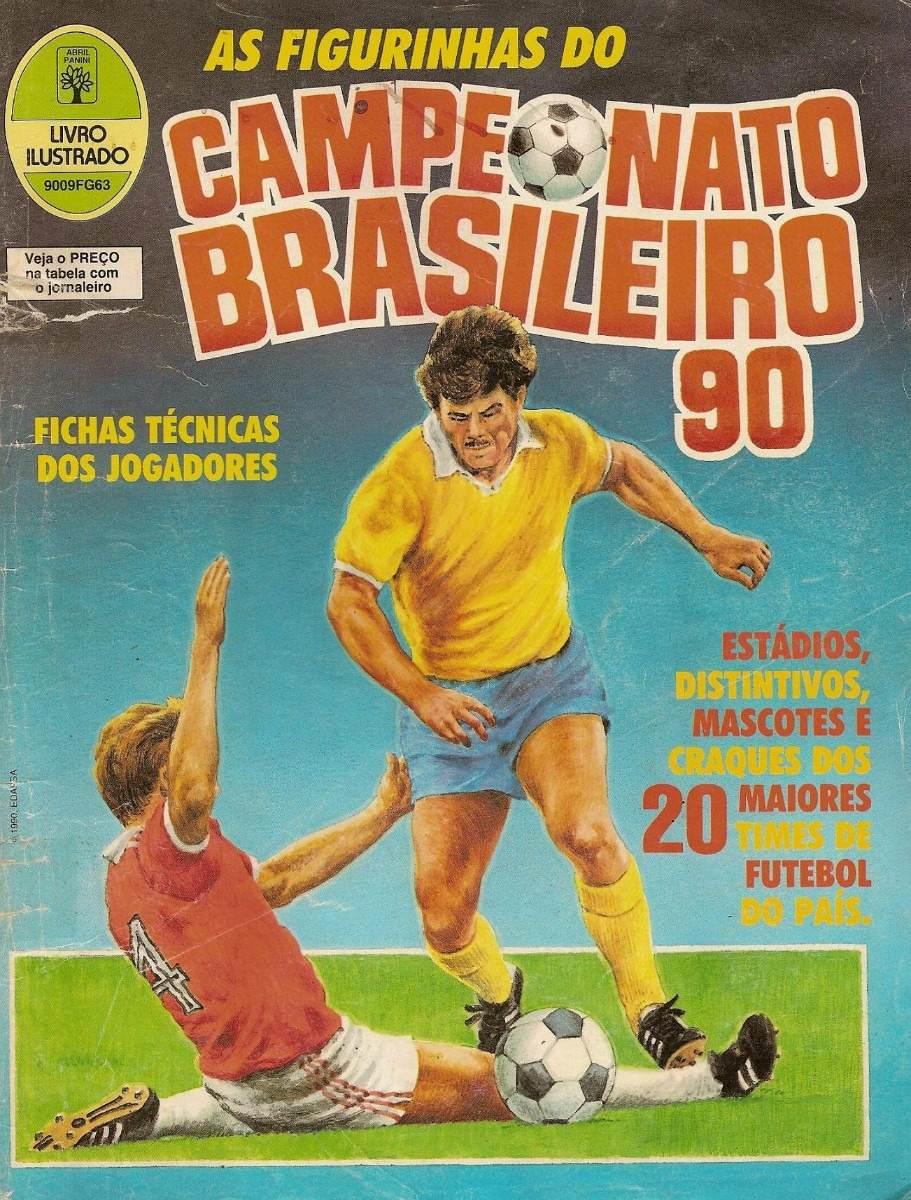 eca2468f87f3b álbum digitalizado campeonato brasileiro 1990 + 2 álbuns. Carregando zoom.