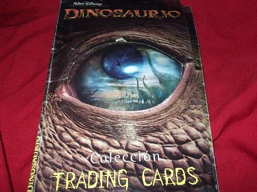 album dinosaurio trading cards-incompleto