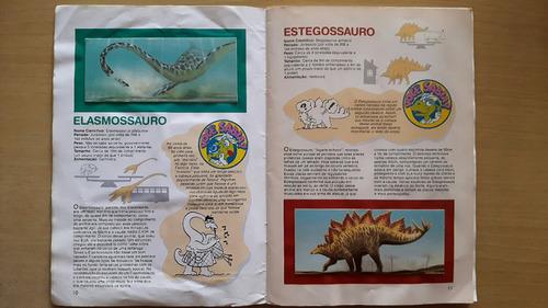 álbum dinossauros - surpresa nestlé - completo
