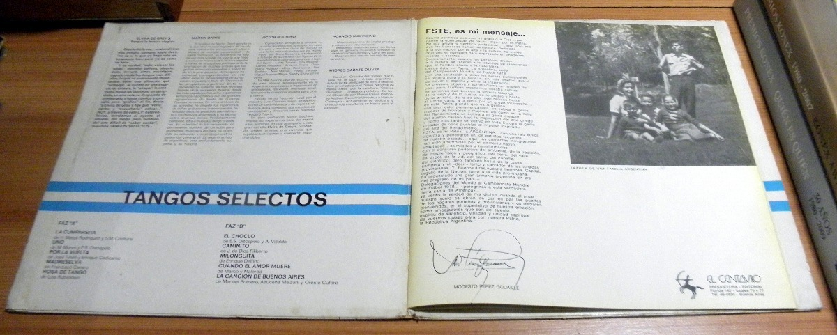 Album Discografico Argentina 78 Doble Disco Vinilo Lp - $ 450,00 en ...