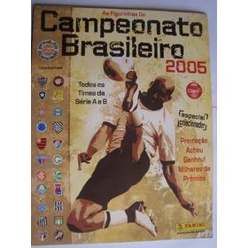 Álbum Do Campeonato Brasileiro Futebol 2005 Vazio Excelente